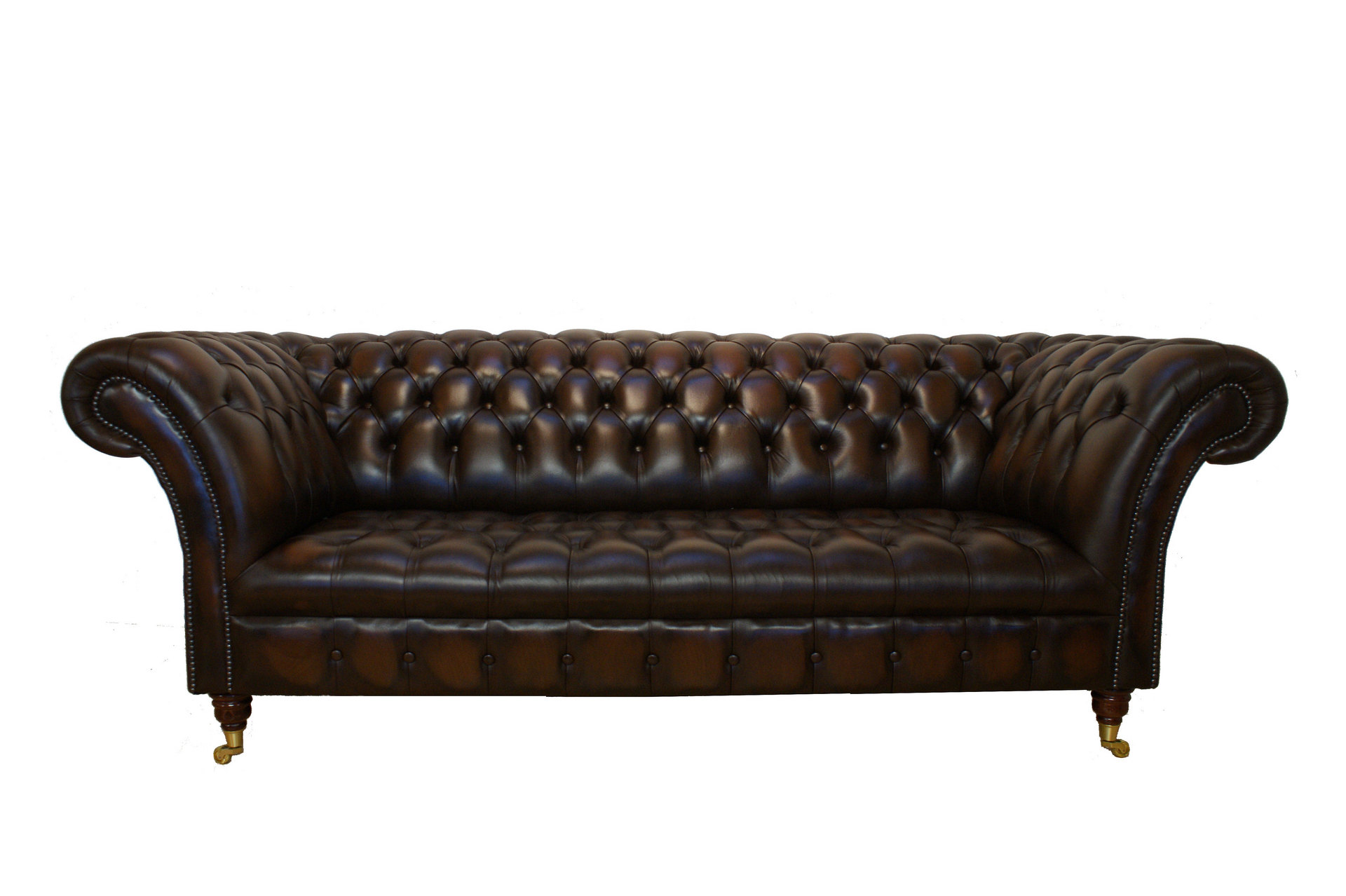 Chesterfield sofas january 2011 Leather chesterfield loveseat