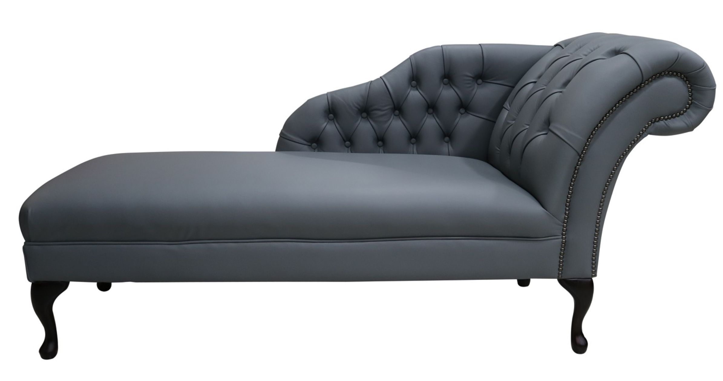 Chesterfield Leather Chaise Lounge Day Bed Designersofasu