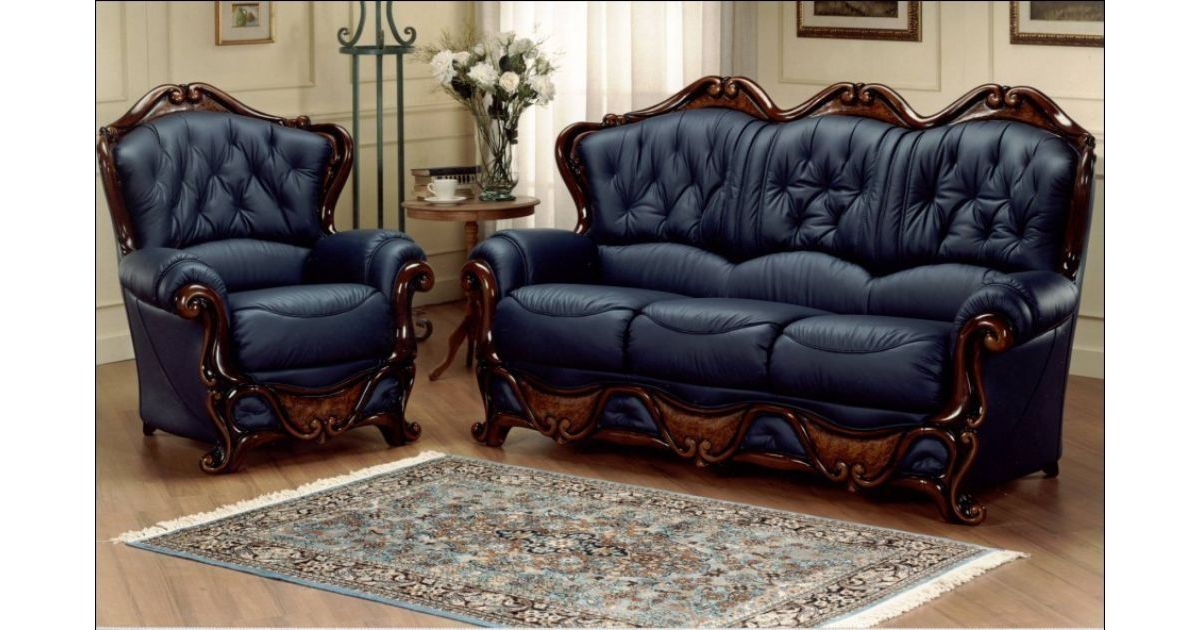 Chesterfield Sofas: Furniture Suitable With Leather Sofas