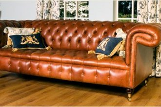 Leather Sofa | The Original Chesterfield Sofa  %Post Title