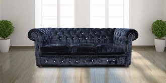 Swarovski Furniture with Swarovski Sparkle, Crystal Sofa  %Post Title