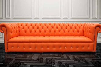 Chesterfieldsofa with Swarovski crystals  %Post Title