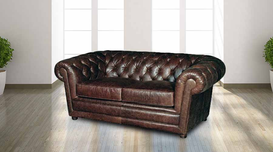 Many believe that the name of this particular sofa was derived after an  English town named Chesterfield. It is also believed that the first leather  sofa was ...