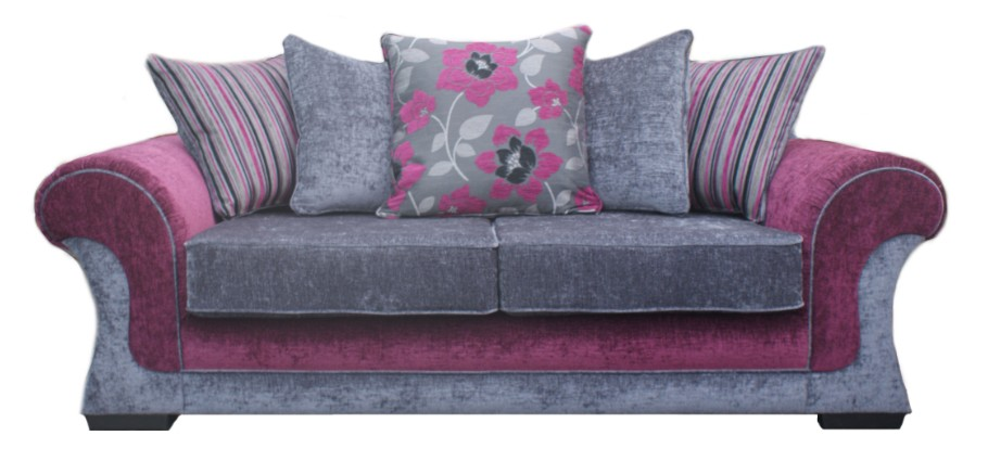 Velvet tufted sofa designersofas4u blog for Purple sofa