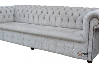 Grey Chesterfield Sofa England  %Post Title