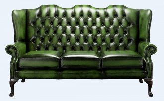 Antique Chesterfield Sofa  %Post Title