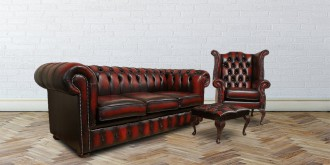 Types of Chesterfield Sofas  %Post Title