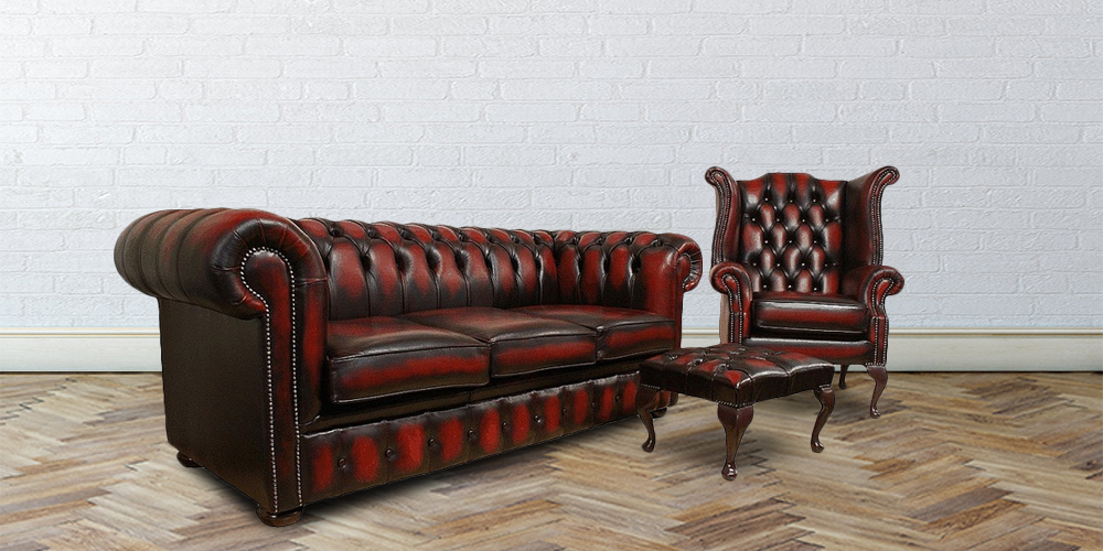 Beautiful Chesterfield Oxblood Sofa #20 - Types Of Chesterfield Sofas Designersofas4u Blog