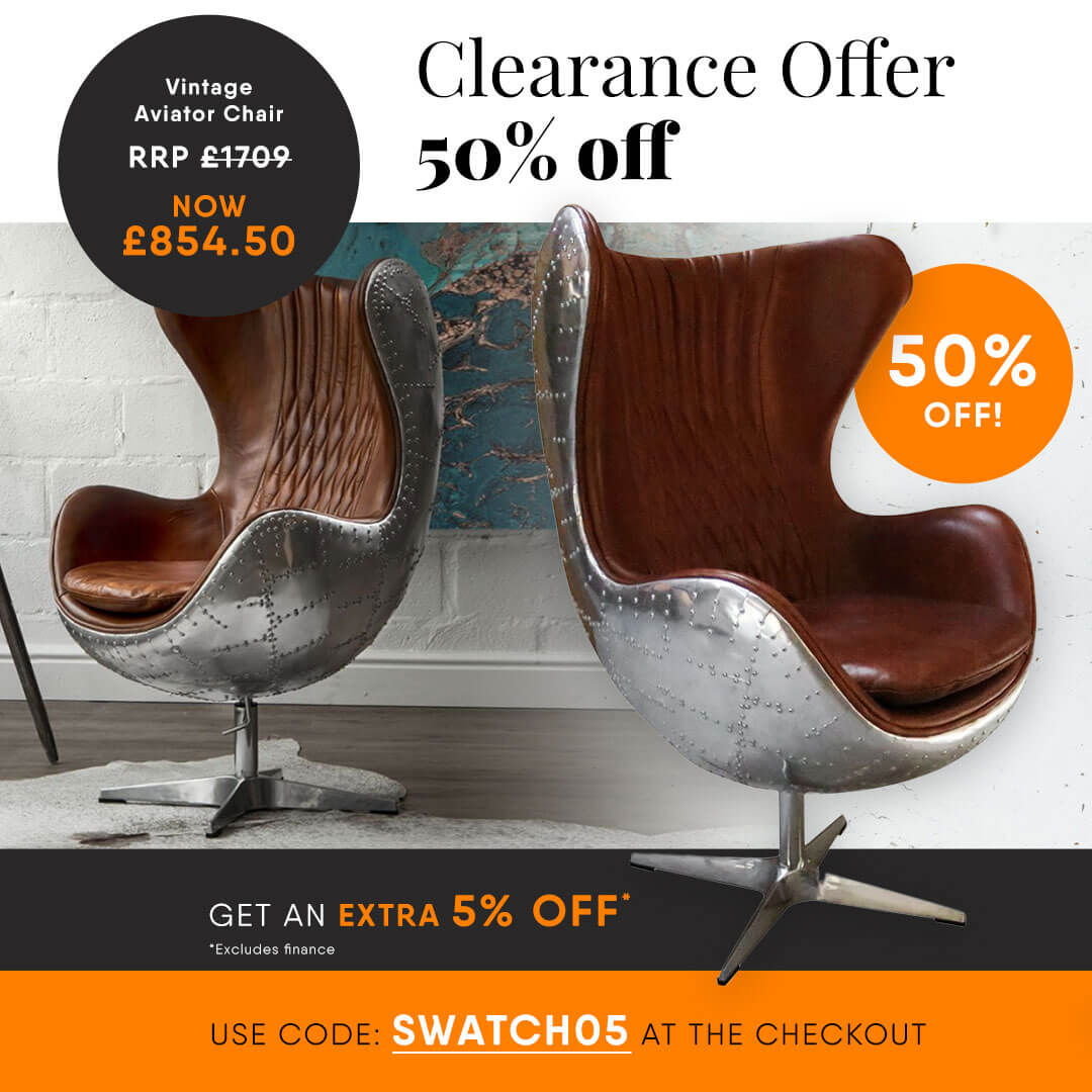 aviator chair clearance offer facebook post (1)