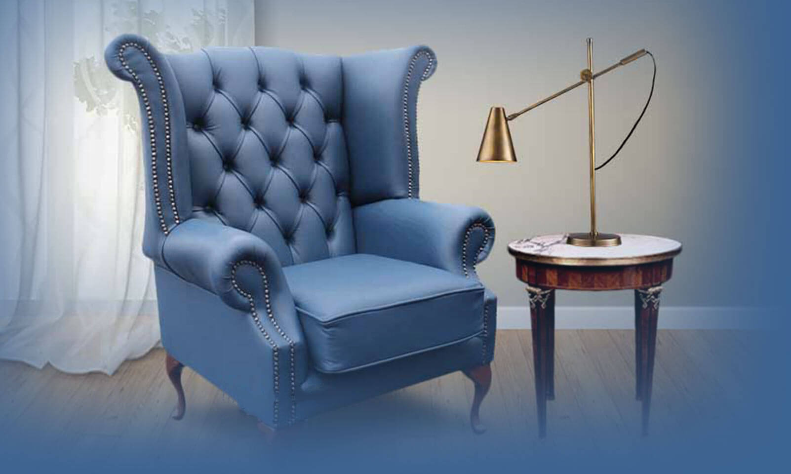 Chesterfield Wing Chairs – Handcrafted in the UK