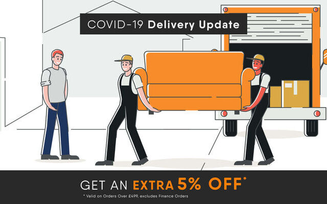 Covid-19 Corona Virus and Your Contactless Furniture Delivery – Designer Sofas 4U