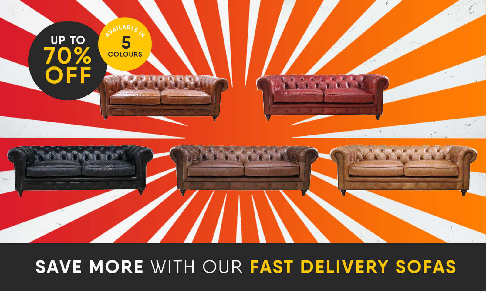 Fast Delivery Sofas & Chairs - In Stock Products