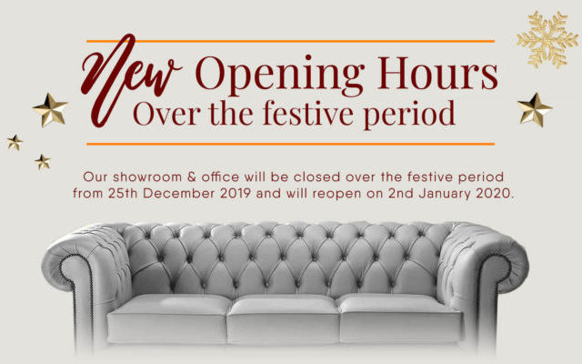 Designer Sofas 4 U Christmas & New Year Opening Times