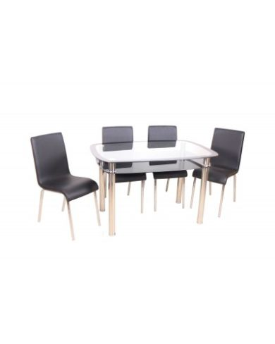 BUDGET DINING TABLE SETS WITH 4 CHAIRS