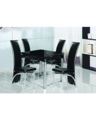 SALINA DINING TABLE + 4 Dining Chairs