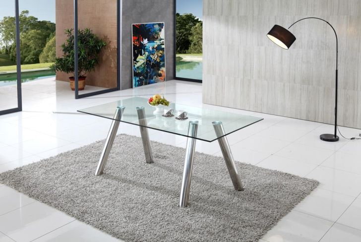 Wilkinson Glass Dining Table
