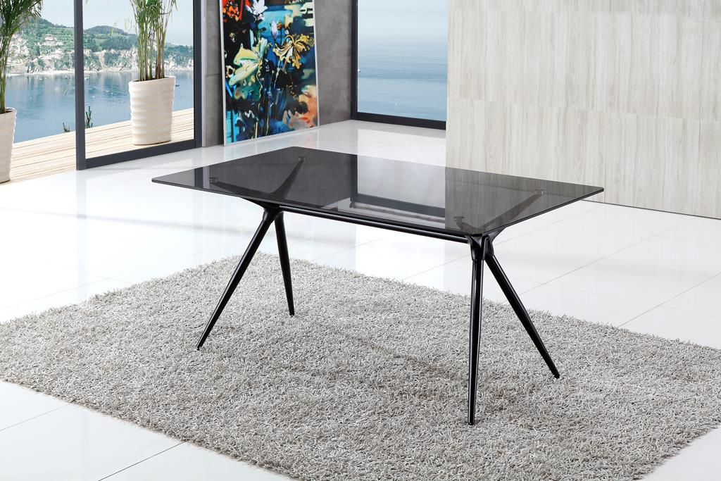 Isis Modern Glass Dining Table