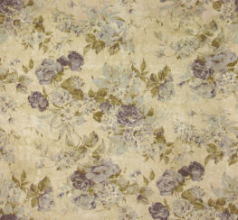 Greendale Floral Print Bluebell