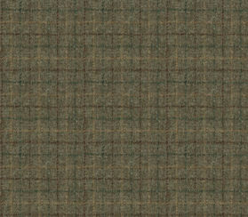 Harris Tweed Bentham Check Moss