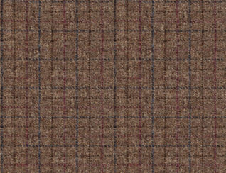 Harris Tweed Bentham Check Peat