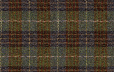 Harris Tweed Bowland Check Forest