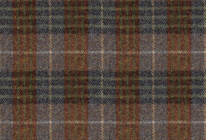 Harris Tweed Bowland Check Heather