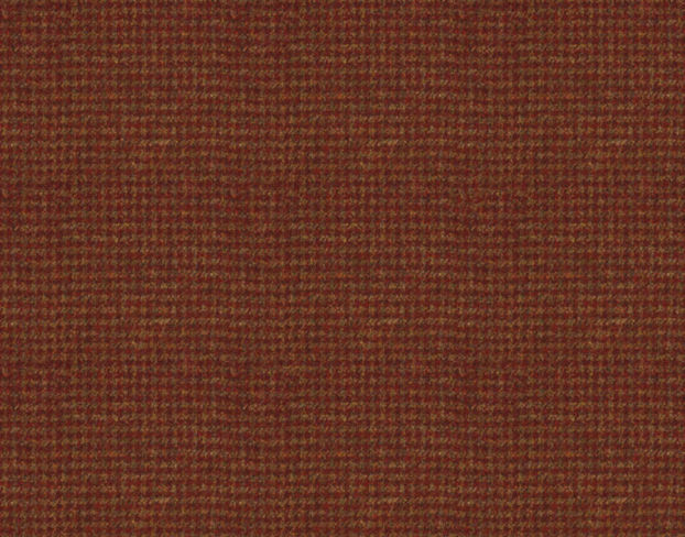 Harris Tweed Houndstooth Burnt Umber