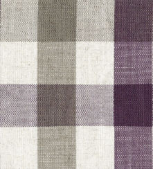 Lytham Check Plum/grey