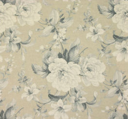 New England Floral Print Wedgewood
