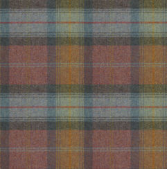 Wool Plaid Moorland Heather