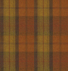 Wool Plaid Orange Marmalade
