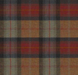 Wool Plaid Orchard Fruits