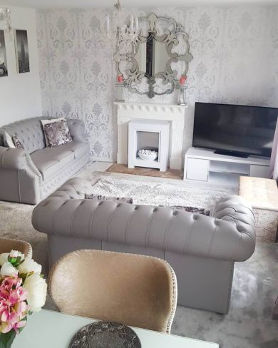 Chesterfield Suite Picture by Designer Sofas 4U Customer