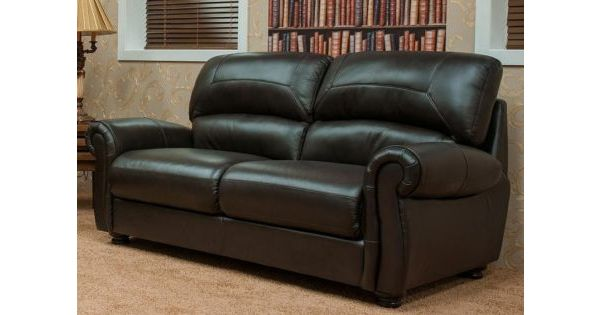 Cambridge 3 seater leather sofa suite available in for Furniture 60 months no interest