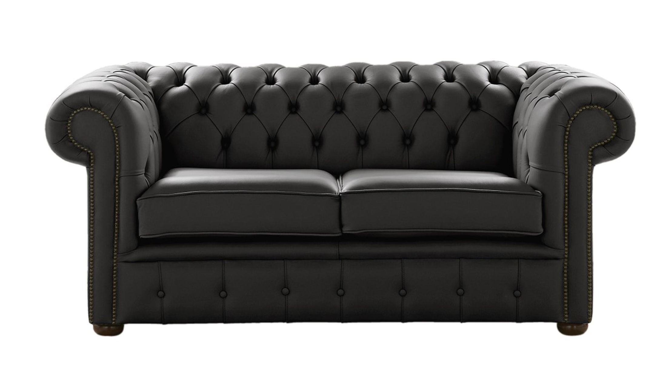 designersofas4u black leather chesterfield sofa. Black Bedroom Furniture Sets. Home Design Ideas