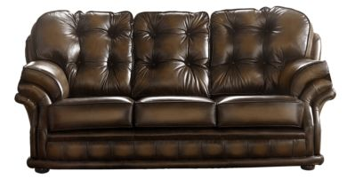 Chesterfield Handmade Knightsbridge 3 Seater Sofa Antique Autumn Tan Leather