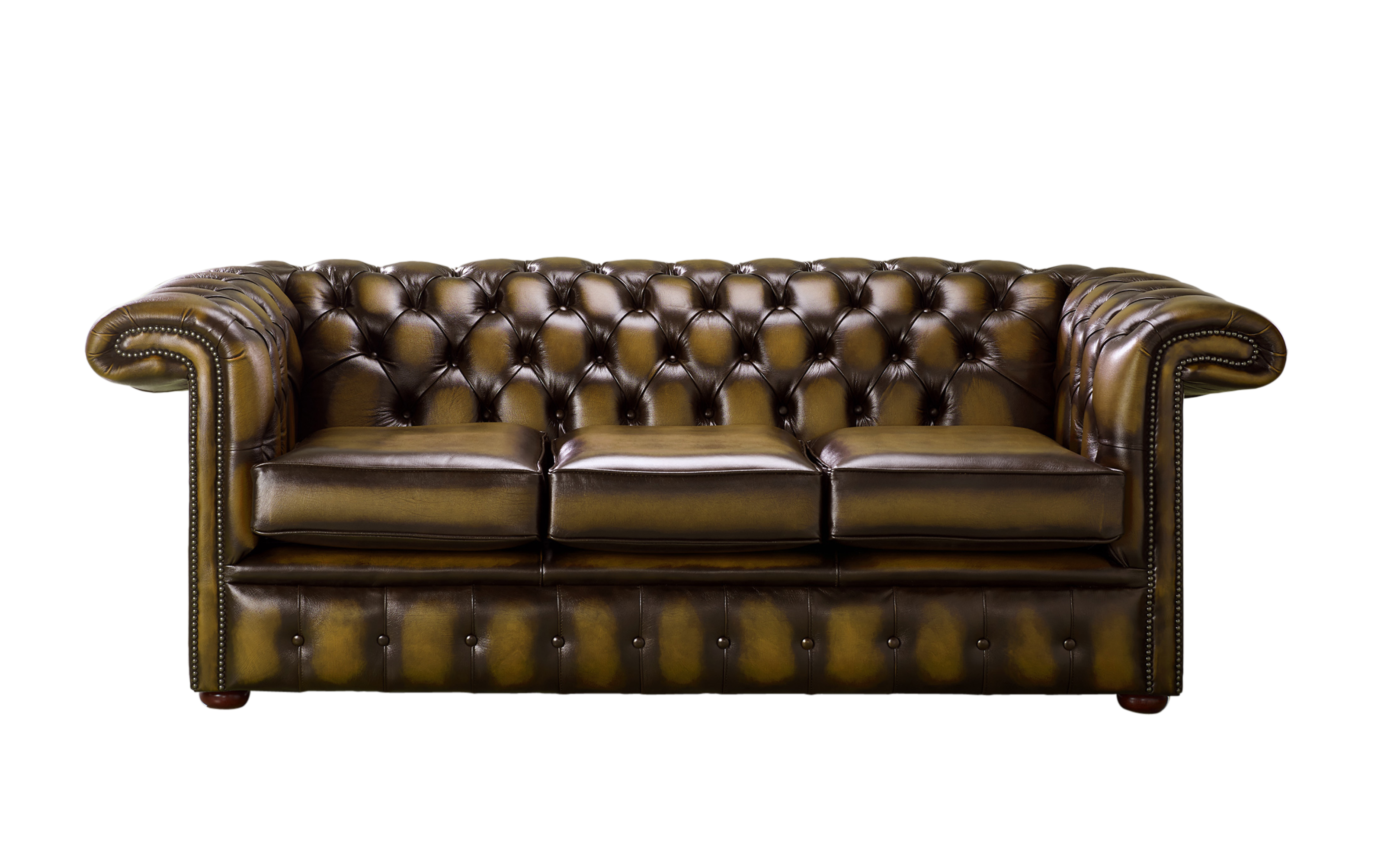 Astounding Chesterfield 1857 Hockey Stick 3 Seater Antique Gold Leather Sofa Offer Gmtry Best Dining Table And Chair Ideas Images Gmtryco