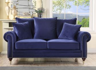 Hampton 2 Seater Royal Blue