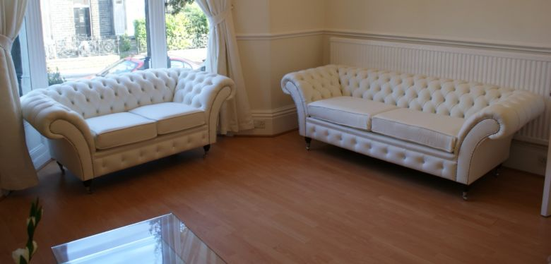 Balmoral Chesterfield Crystal Suite Sofas - Designer Sofas 4U