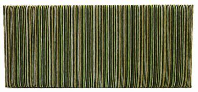 Neptune Argent Stripe Citrus - King Size Bed Headboard