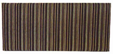Neptune Argent Stripe Cocoa - Double Bed Headboard