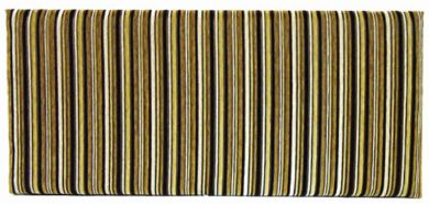 Neptune Argent Stripe Gold - King Size Bed Headboard