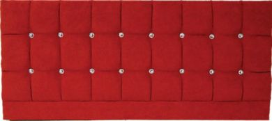 Saturn Bling Basket Cherry - Knigsize Bed Headboard