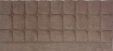 Saturn Chocolate Basket Weave - Kingsize Bed Headboard