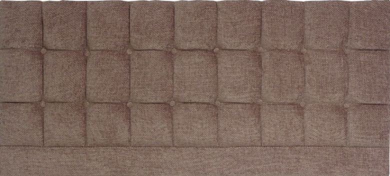 Saturn Chocolate Basket Weave - Super Kingsize Bed Headboard
