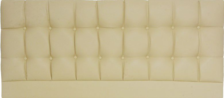 Saturn Cream - Double Bed Headboard