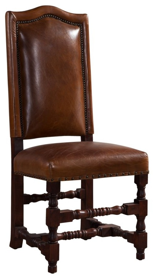 Pleasant Cheltenham Vintage Distressed Leather Dining Chair Andrewgaddart Wooden Chair Designs For Living Room Andrewgaddartcom