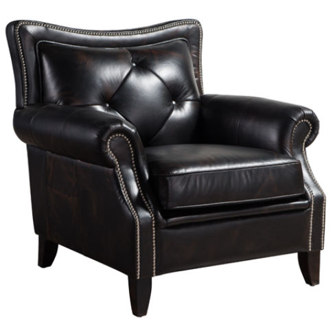 Connaught Chesterfield Vintage Distressed Leather Armchair