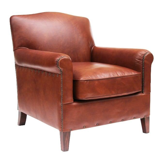 Outstanding Connor Vintage Distressed Leather Armchair Inzonedesignstudio Interior Chair Design Inzonedesignstudiocom