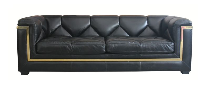 Gatsby 3 Seater Distressed Leather Sofa